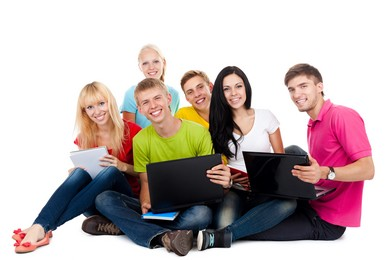 Stock education images of group of students